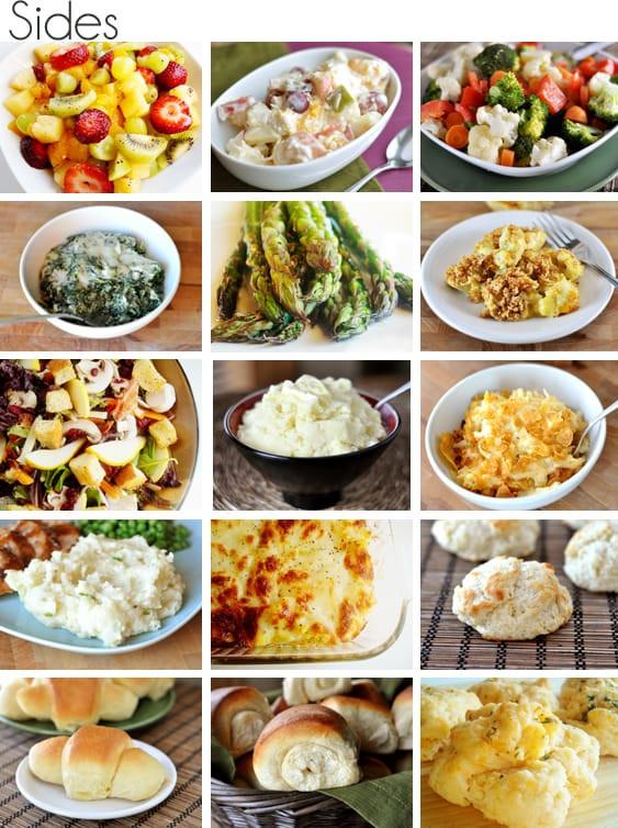 Suggestions For Easter Dinner  Easter Dinner Make a Menu 2012