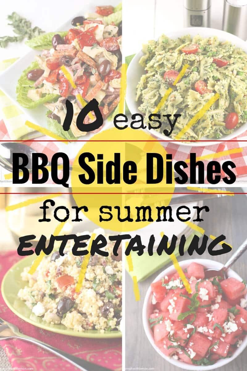 Summer Bbq Side Dishes  10 Easy BBQ Side Dishes Garnish with Lemon