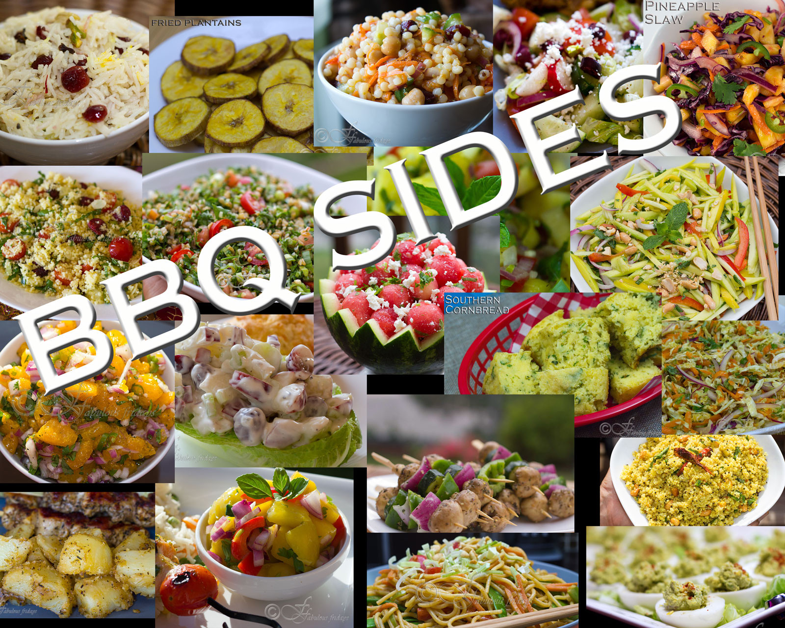 Summer Bbq Side Dishes  fabulous fridays 20 Awesome BBQ side dishes