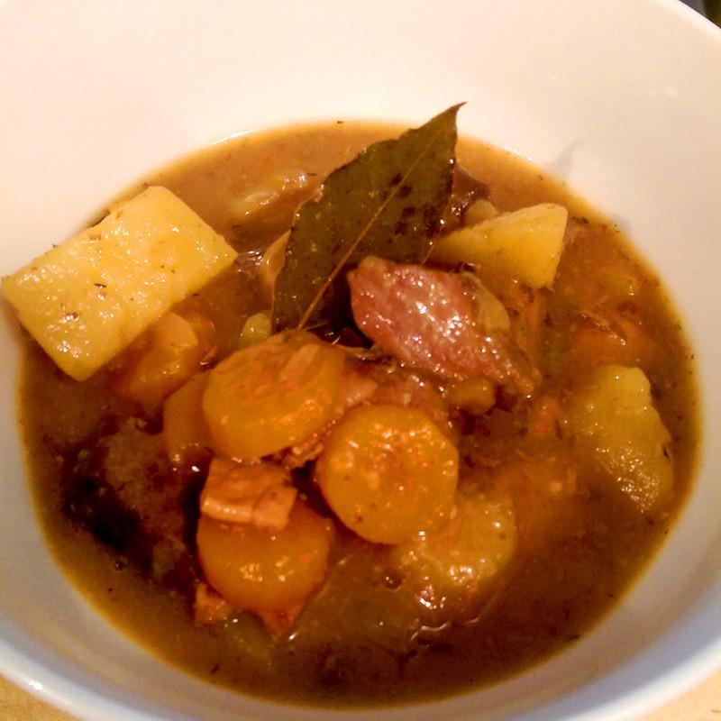 Summer Beef Stew  Apple Cider & Beef Summer Stew Recipe RecipeYum