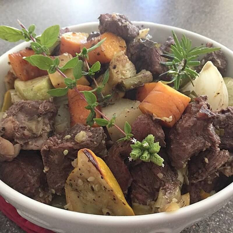 Summer Beef Stew  Summer Harvest Beef Stew Beef Stew Recipes