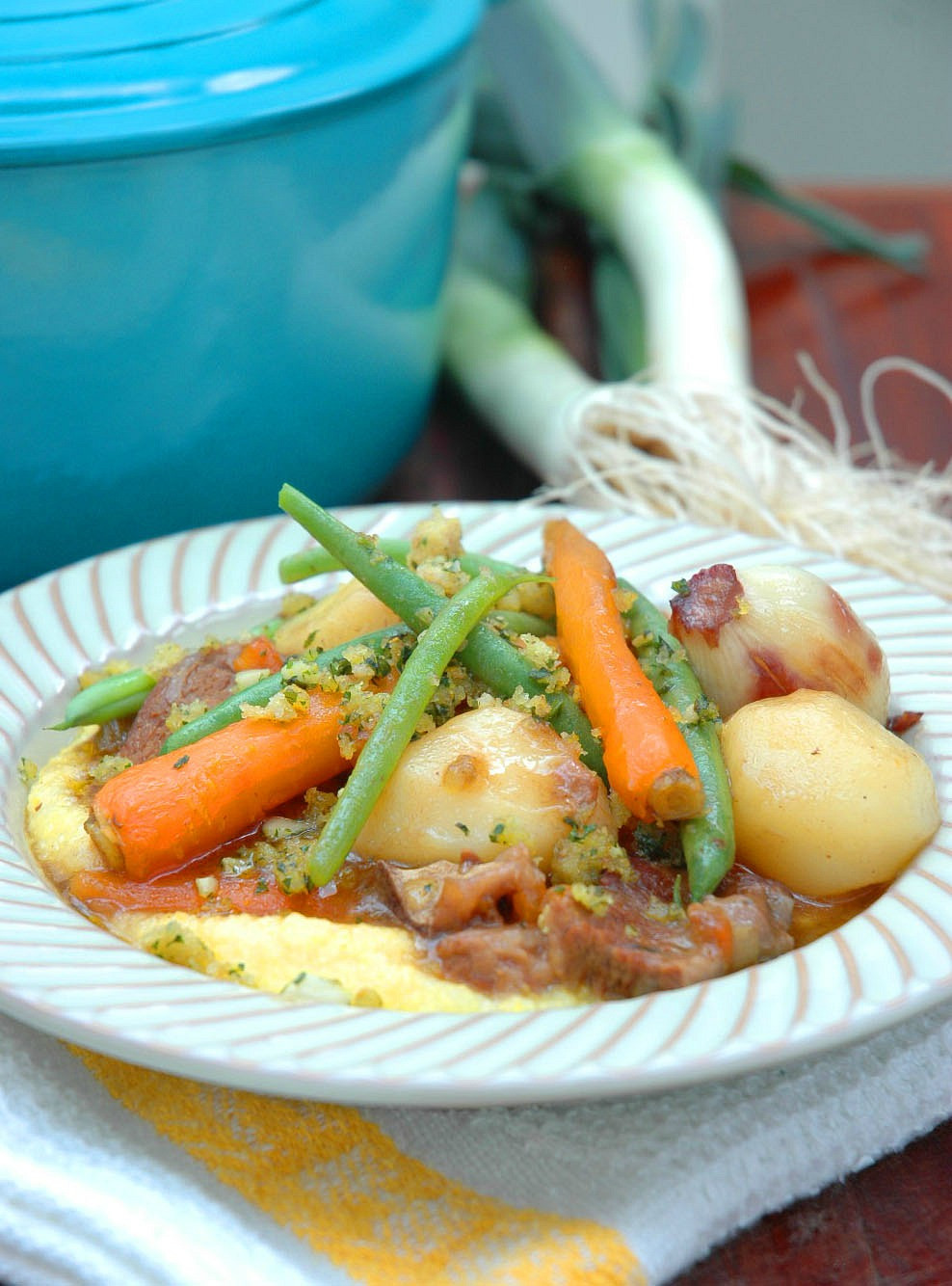 Summer Beef Stew  A Beef stew light enough for Spring and Summer My Easy