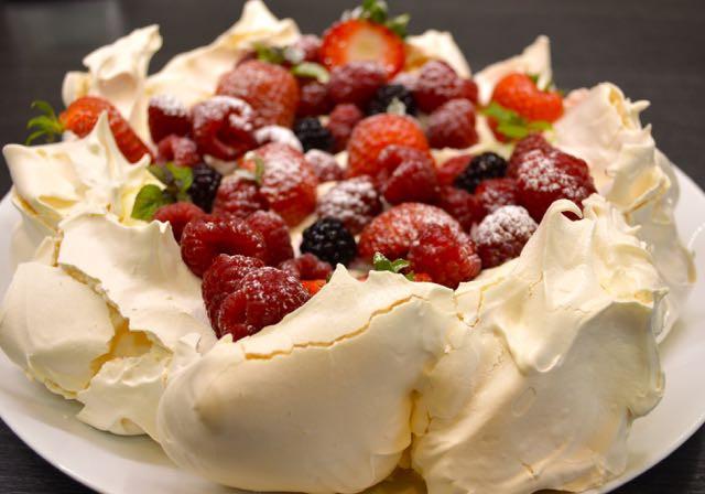 Summer Berry Desserts  Kitchen Delights Summer Berries Pavlova Recipe