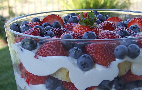 Summer Berry Desserts  Berry Trifle Recipe Girl