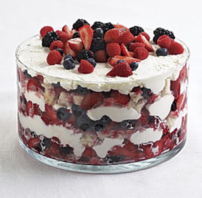 Summer Berry Desserts  Berry Trifle Recipe — Dishmaps