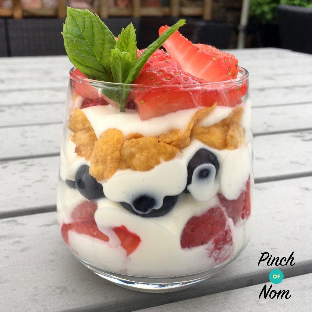 Summer Berry Desserts  1 Syn Summer Berry Dessert