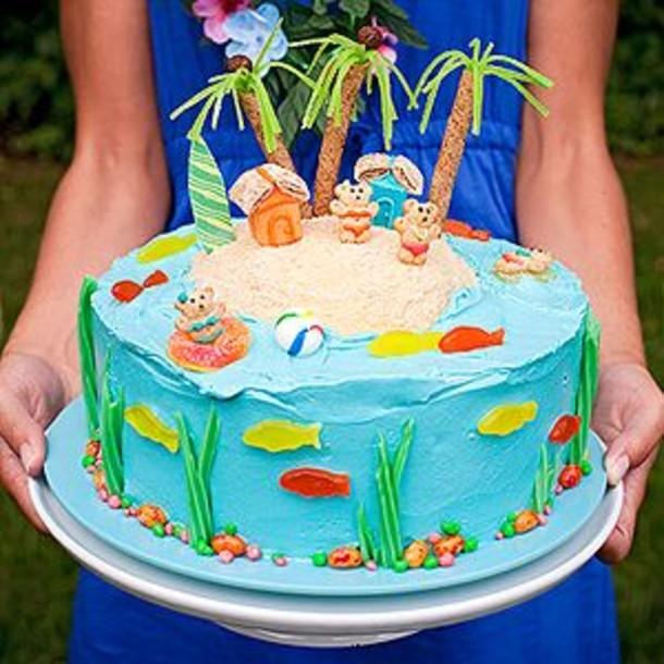 Summer Birthday Cake Ideas  Summer Birthday Cakes 12 Summer Birthday Cakes Cake Ideas