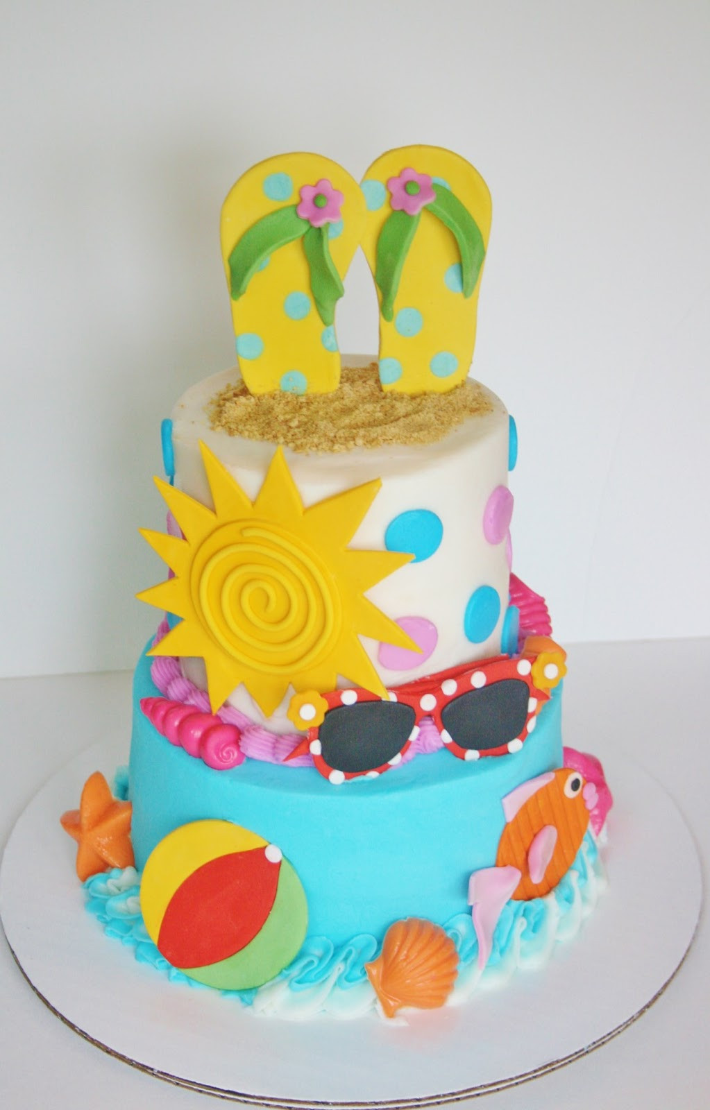 Summer Birthday Cake Ideas  And Everything Sweet Summer is HERE