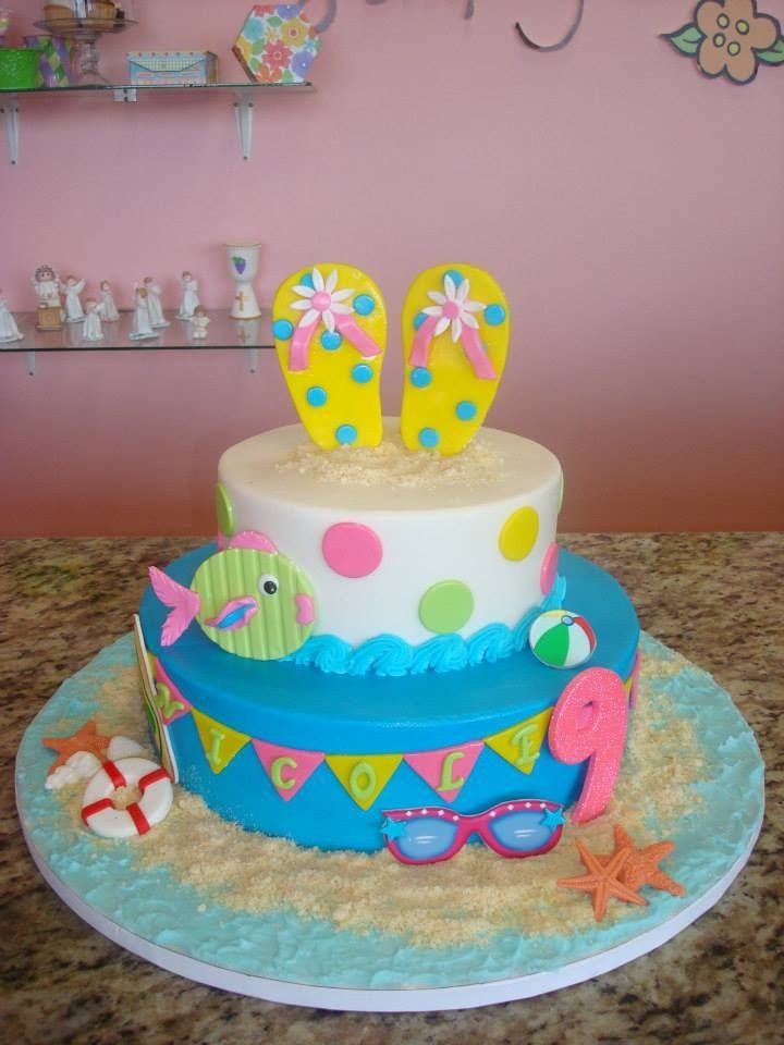Summer Birthday Cake Ideas  17 Best images about Summer cake on Pinterest