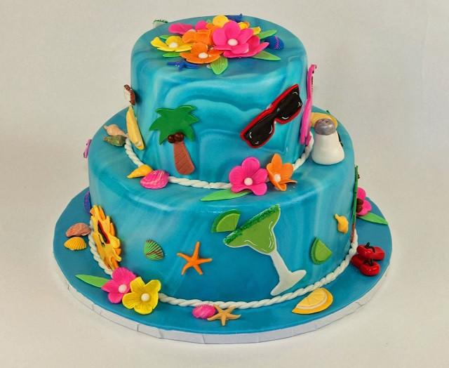 Summer Birthday Cake Ideas  Summer Kids Birthday Cake