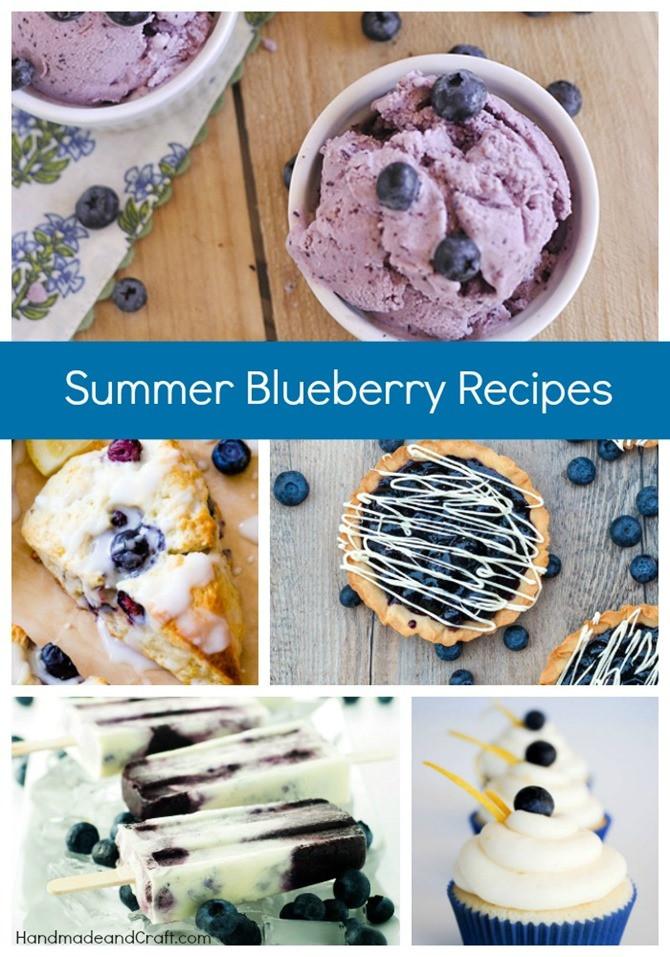 Summer Blueberry Desserts  Summer Blueberry Recipes
