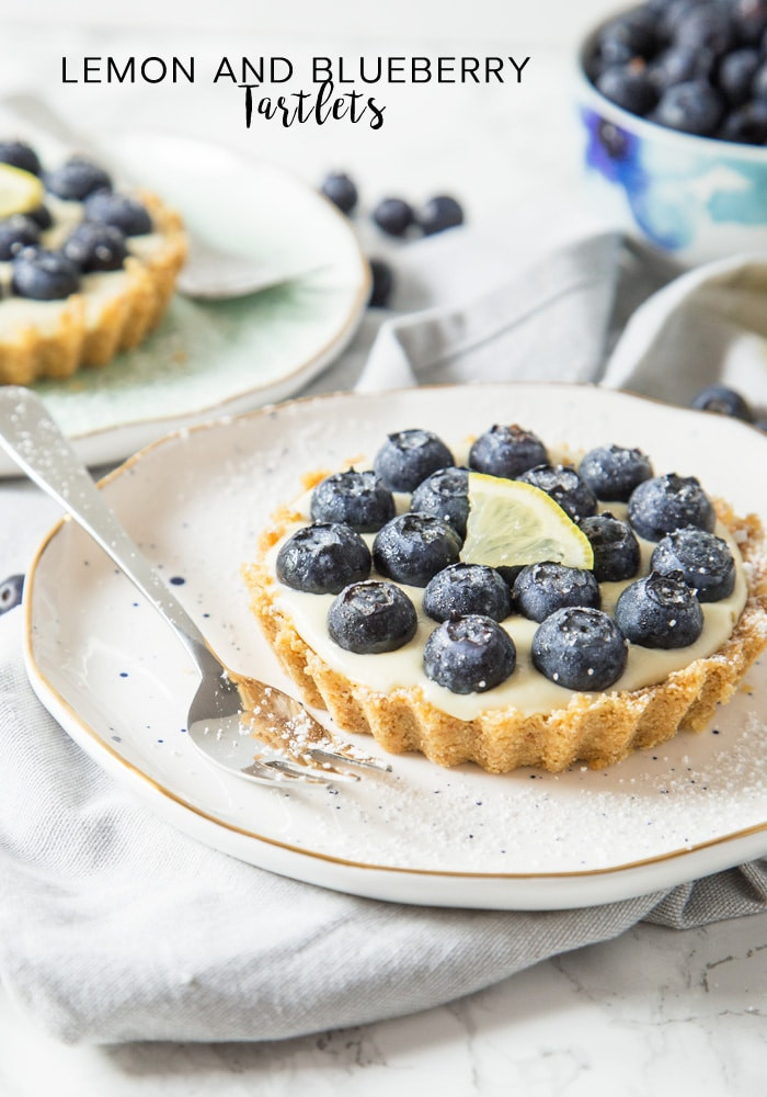 Summer Blueberry Desserts  Lemon and Blueberry Tartlets Recipe Somewhat Simple