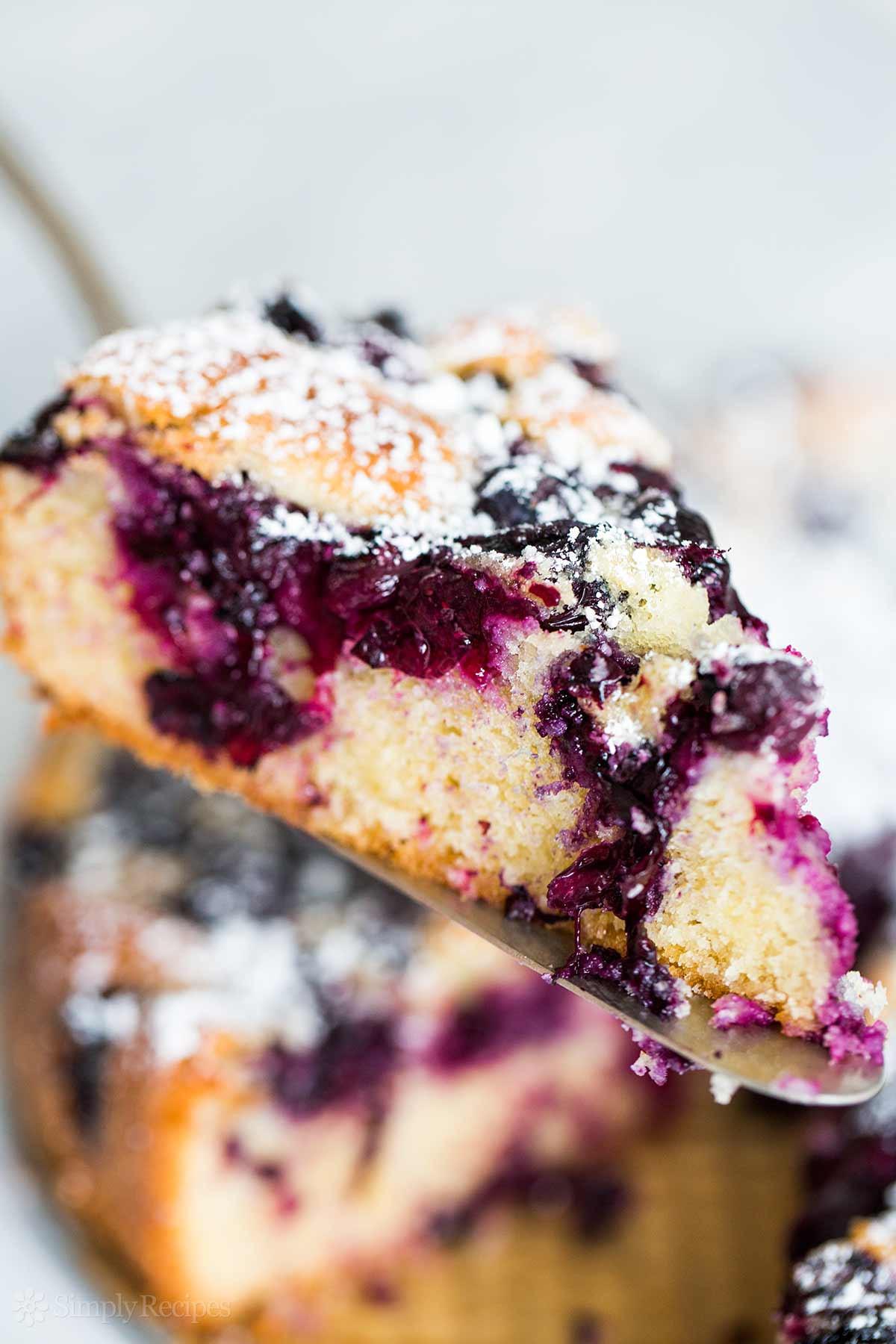 Summer Blueberry Desserts  Blueberry Cake Recipe
