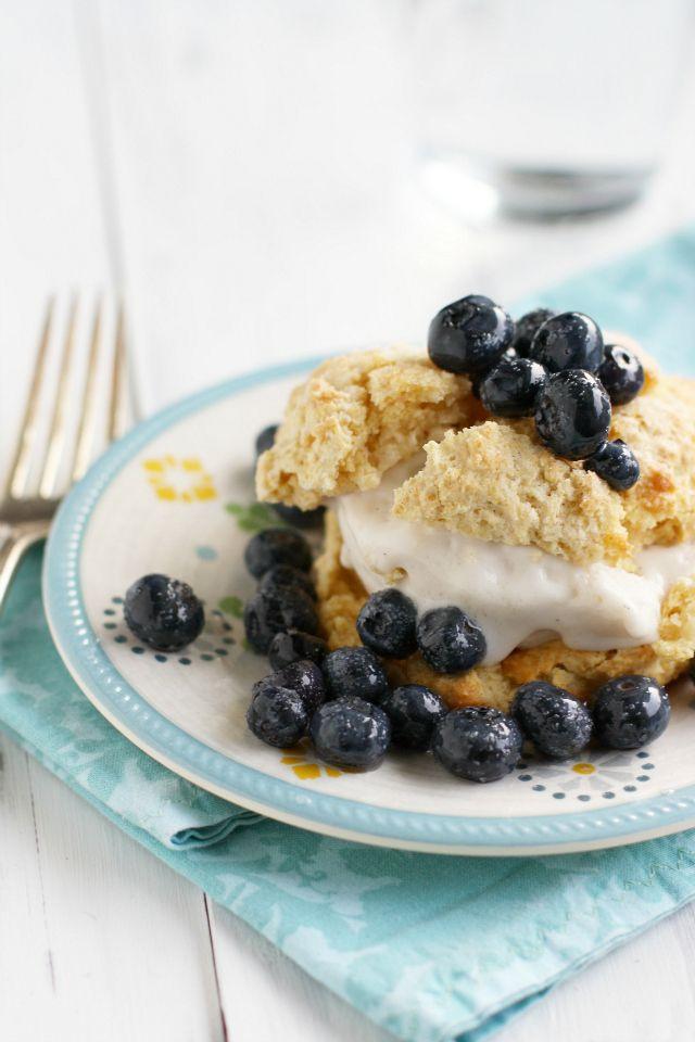 Summer Blueberry Desserts  Simple Blueberry Shortcakes Recipe