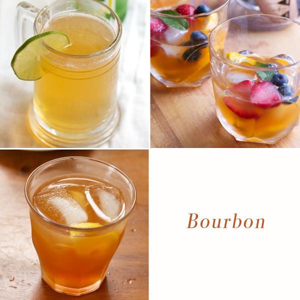 Summer Bourbon Drinks  Building a Summer Bar for LearnVest Big Girls Small Kitchen