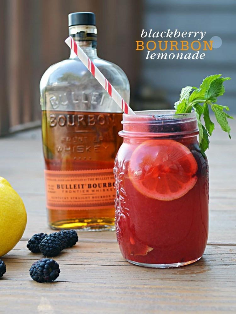 Summer Bourbon Drinks  Cocktail Friday Blackberry Bourbon Lemonade