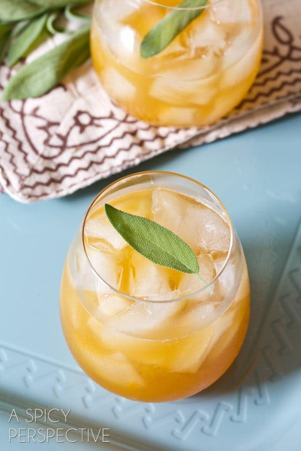 Summer Bourbon Drinks  Indian Summer Bourbon Cocktail Summer Cocktails