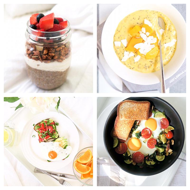 Summer Breakfast Recipe  Healthy Breakfast Recipes Spring Summer