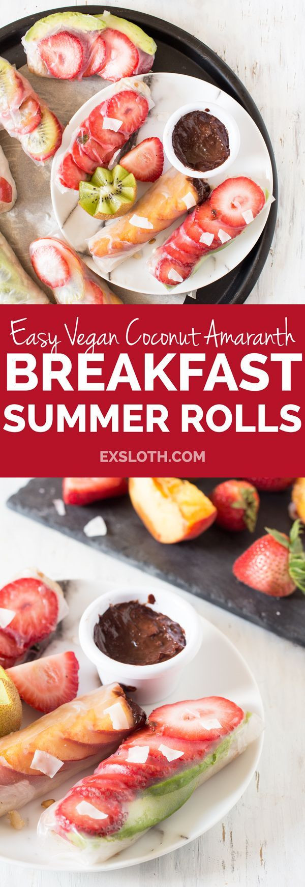 Summer Breakfast Recipe  1892 best images about Plant Based Diet Recipes on