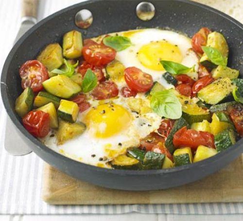 Summer Breakfast Recipe  e pan summer eggs recipe