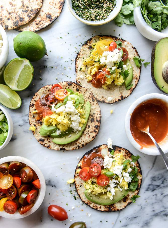 Summer Breakfast Recipe  Summer Breakfast Tacos How Sweet Eats