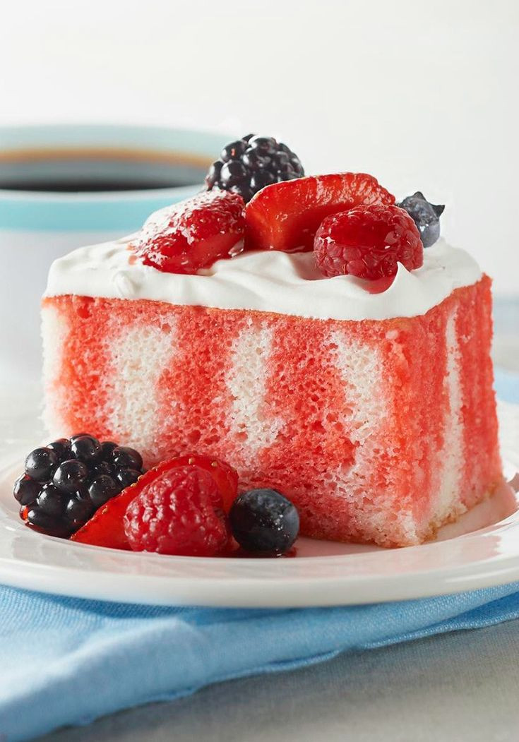 Summer Cake Recipes  42 best images about Fun desserts for a crowd on Pinterest