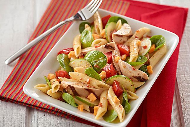 Summer Chicken Pasta Salad  Bistro Chicken Summer Salad Kraft Recipes