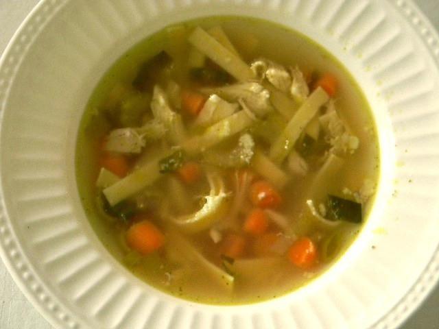 Summer Chicken Soup  Summer Chicken Soup • Fridgg