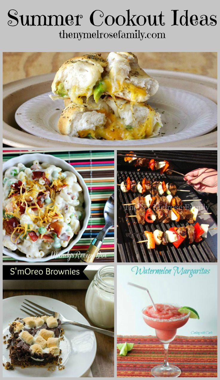 Summer Cookout Desserts  17 Best images about Cookouts & Entertaining Ideas on