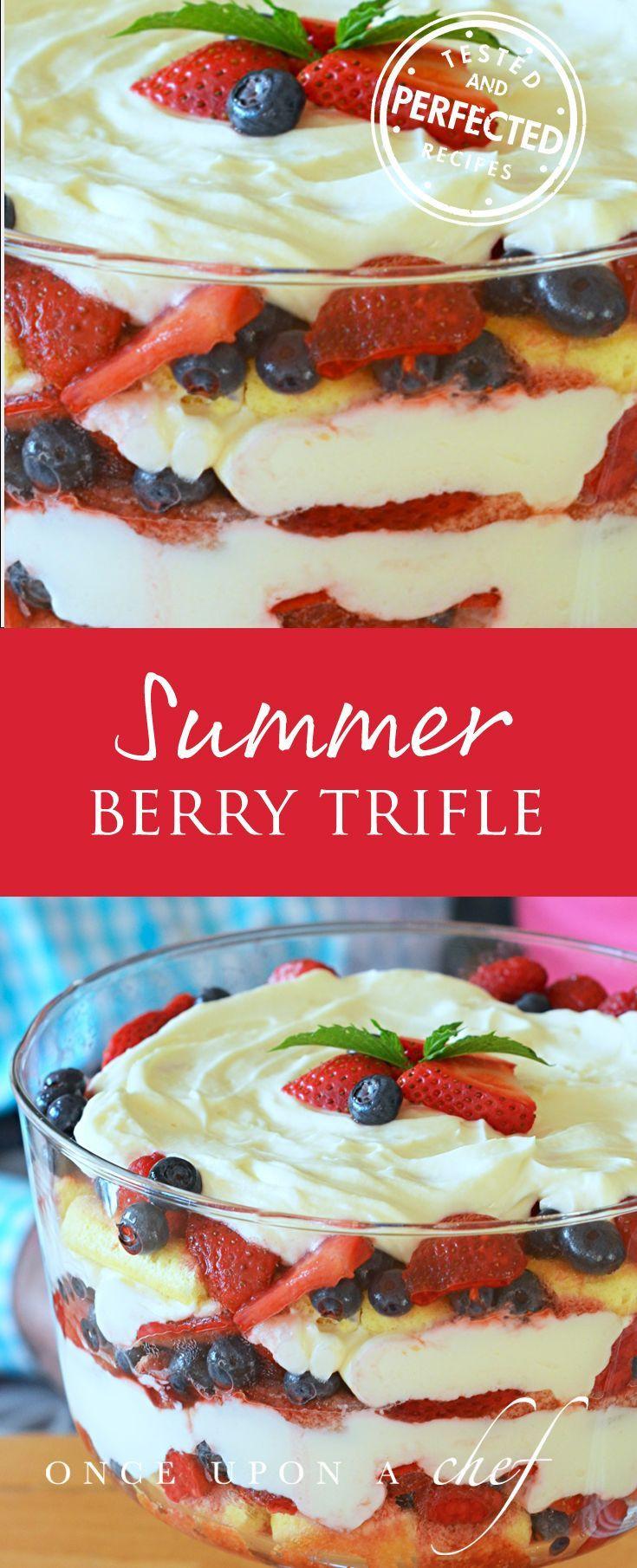 Summer Cookout Desserts  25 best Trifle bowl desserts ideas on Pinterest