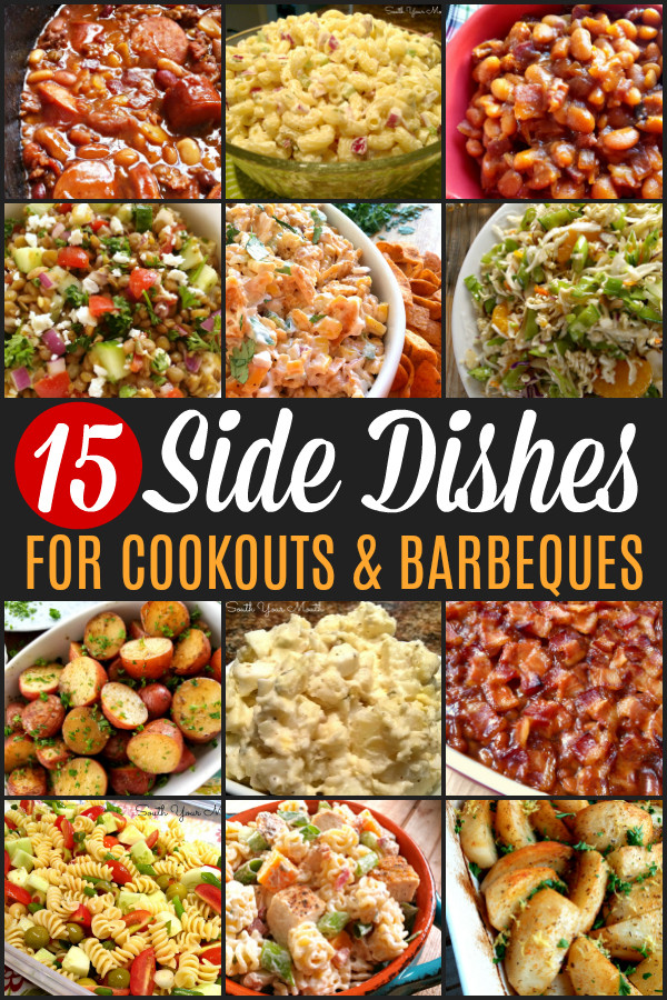 Summer Cookout Side Dishes  South Your Mouth 15 Side Dishes PERFECT for Your Summer