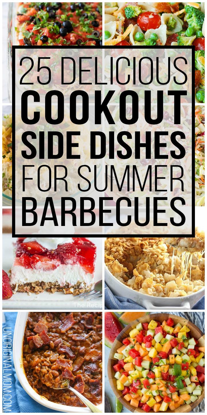 Summer Cookout Side Dishes  25 Delicious Cookout Side Dishes for Summer Barbecues