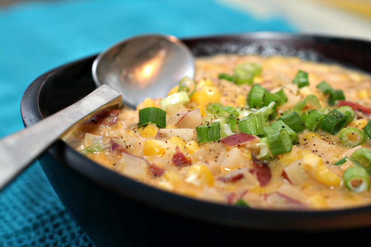 Summer Corn Chowder  End of Summer Corn Chowder – Glam Radar