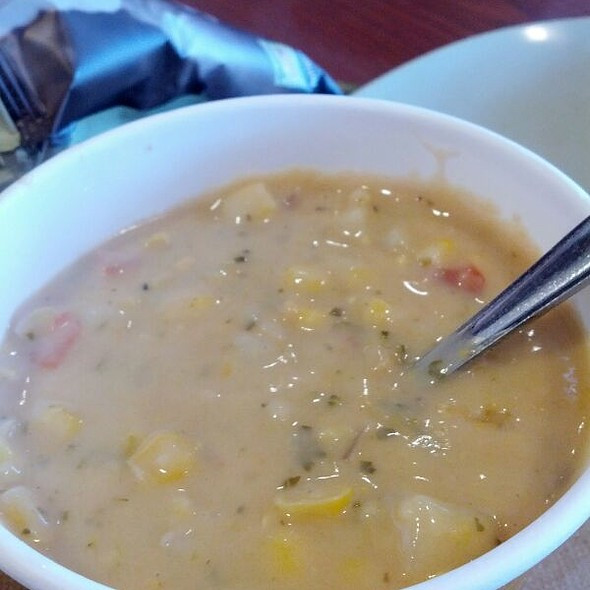 Summer Corn Chowder Panera  Allison Baker Foodspotting