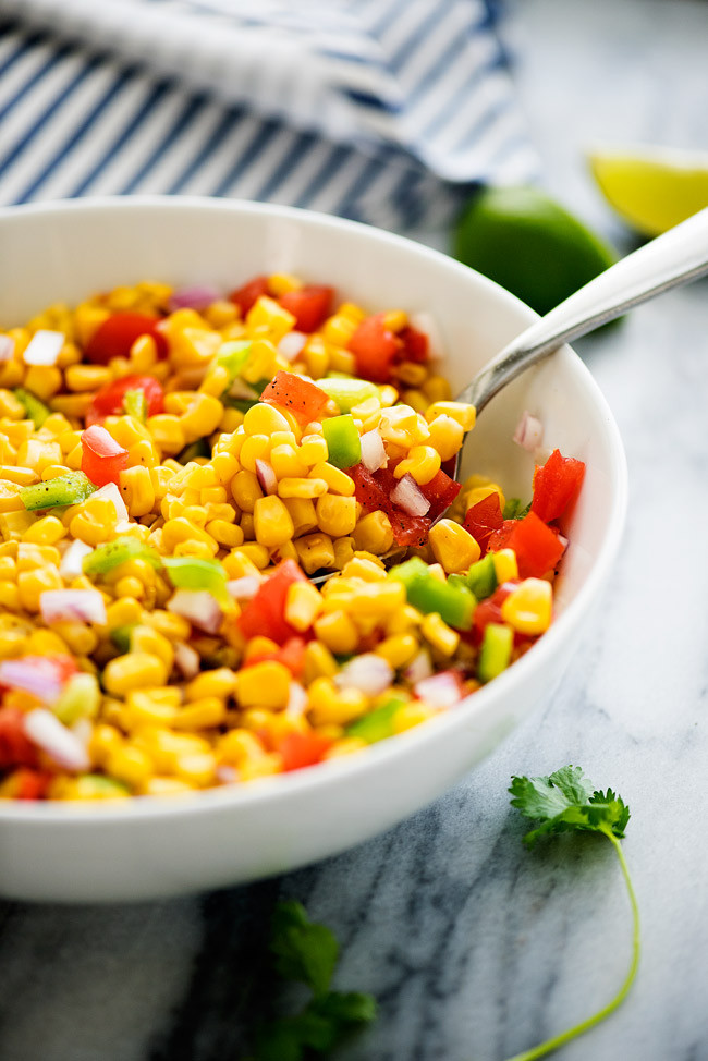 Summer Corn Salad  Summer Corn Salad Life In The Lofthouse