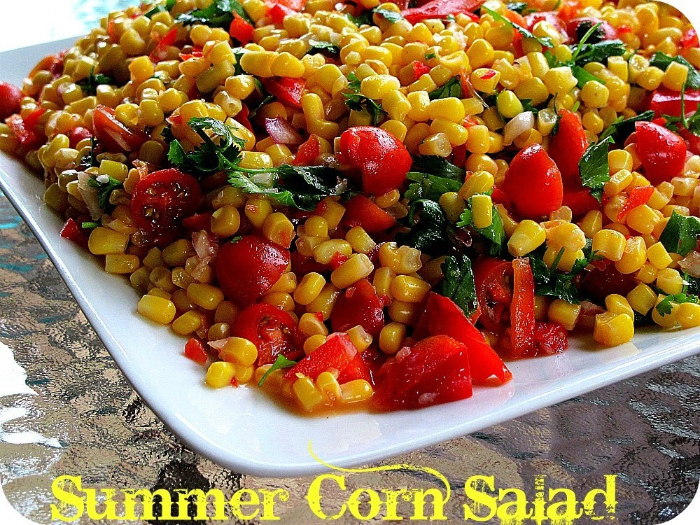 Summer Corn Salad  Summer Cooking — The Most Delicious Corn Salad Recipe