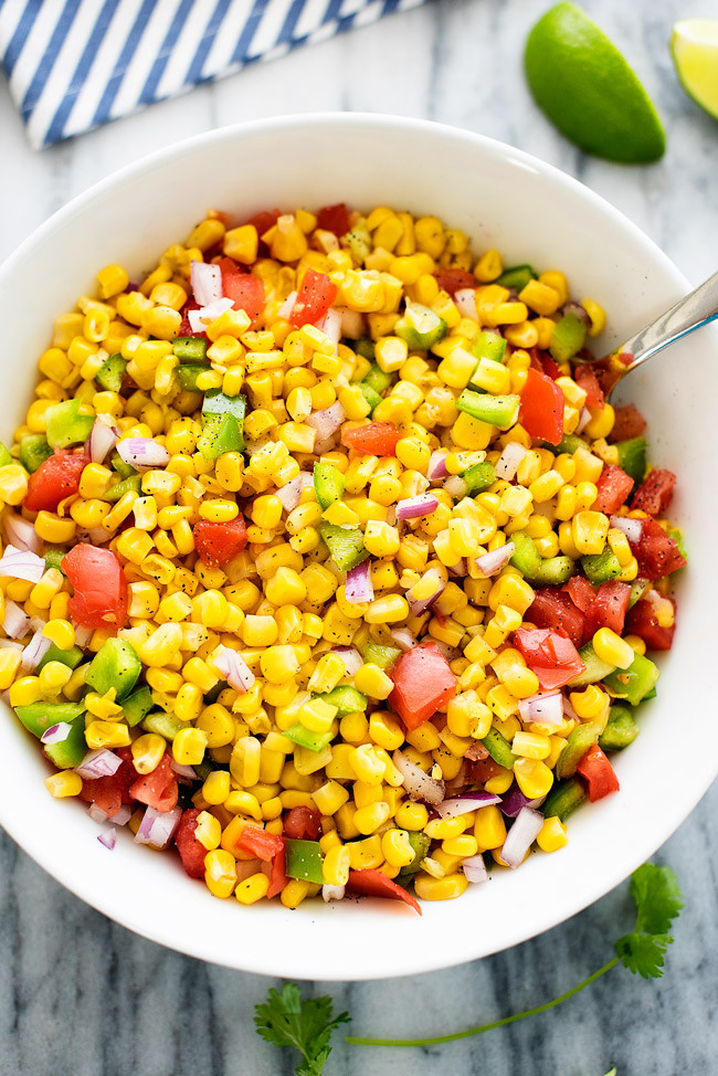 Summer Corn Salad  Summer Corn Salad Recipe — Dishmaps