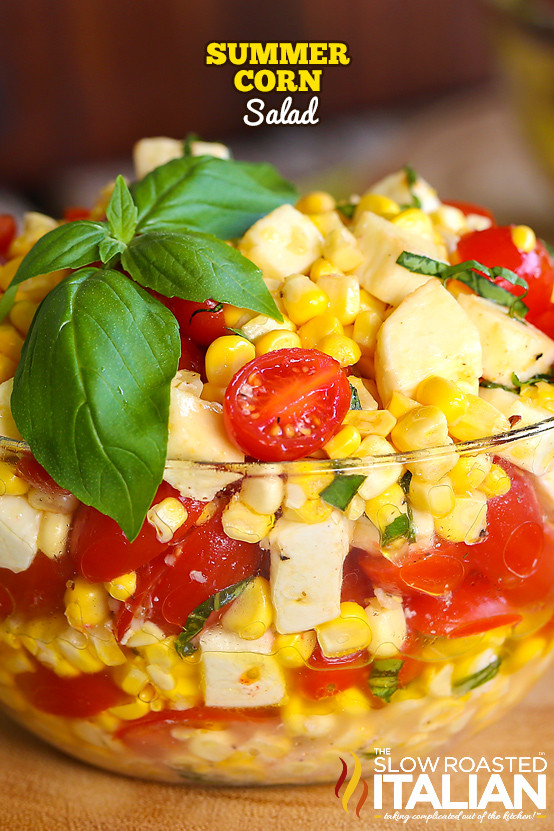 Summer Corn Salad  Summer Corn Salad