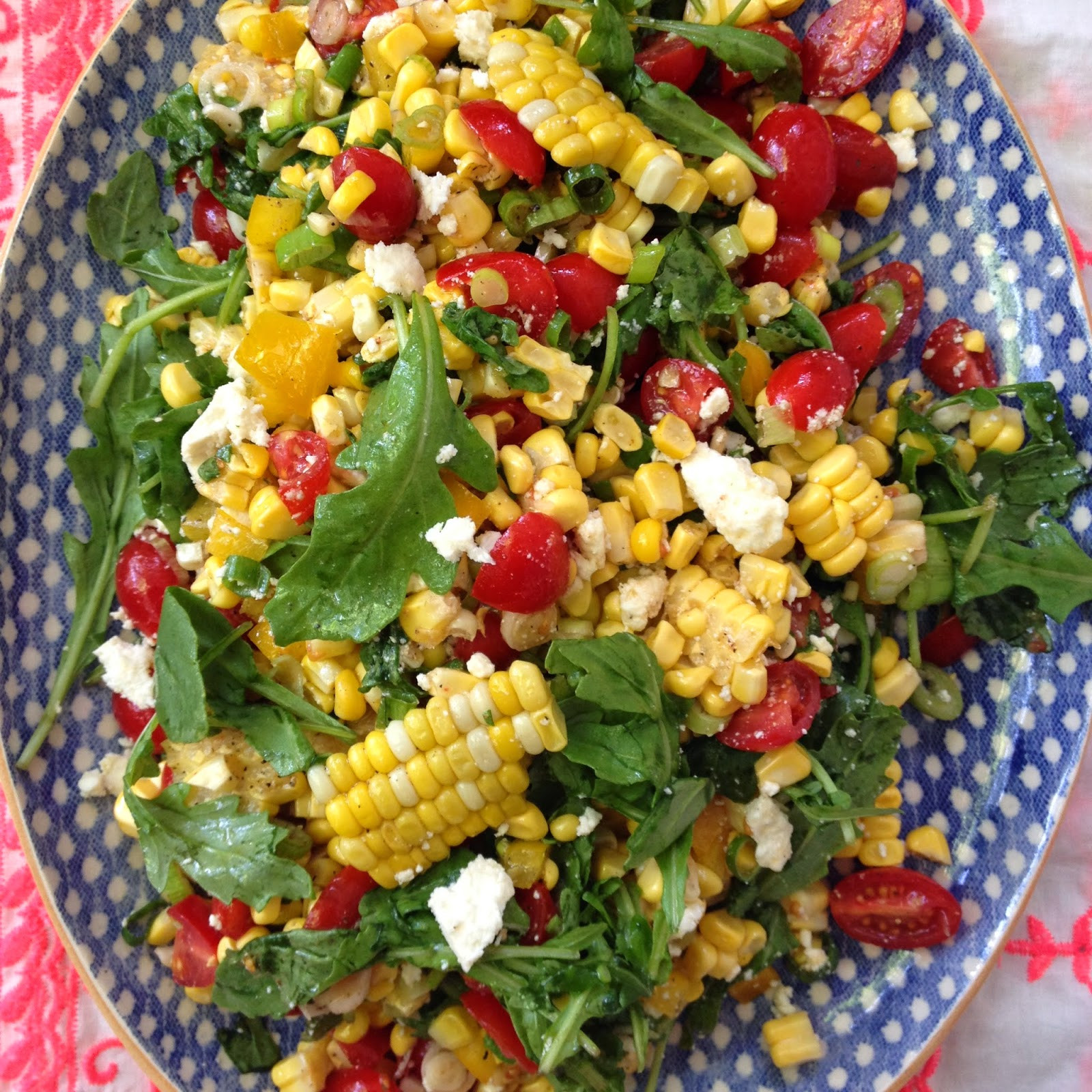 Summer Corn Salad  Summer Corn Salad Open Door Shop Designer Bags & Dirty