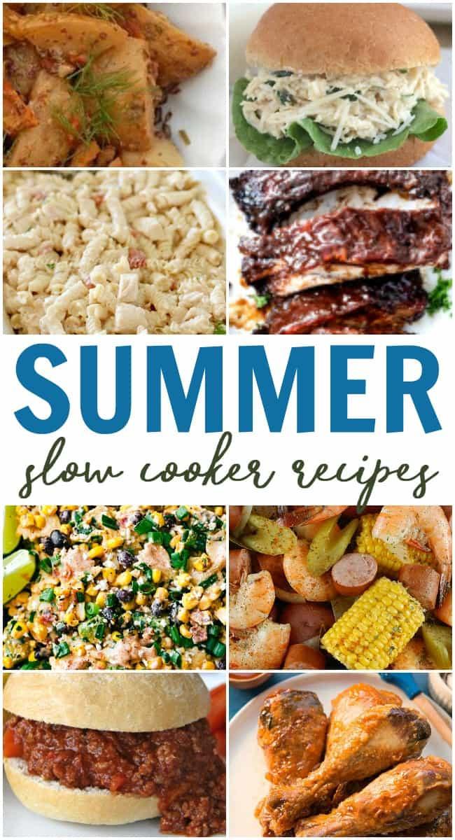 Summer Crock Pot Dinners  Summer Crock Pot Recipes