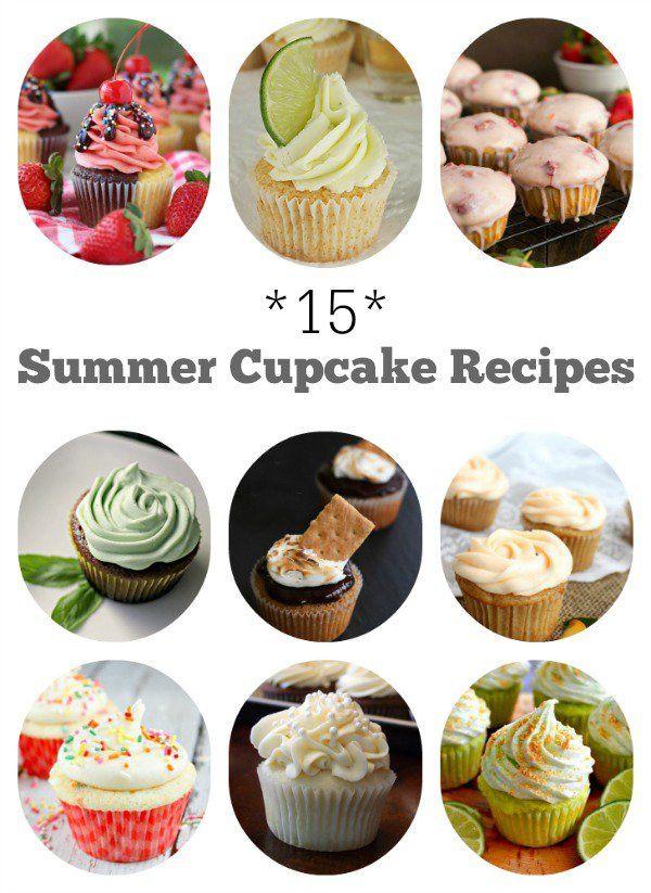 Summer Cupcakes Flavors  Best 25 Summer cupcake recipes ideas on Pinterest