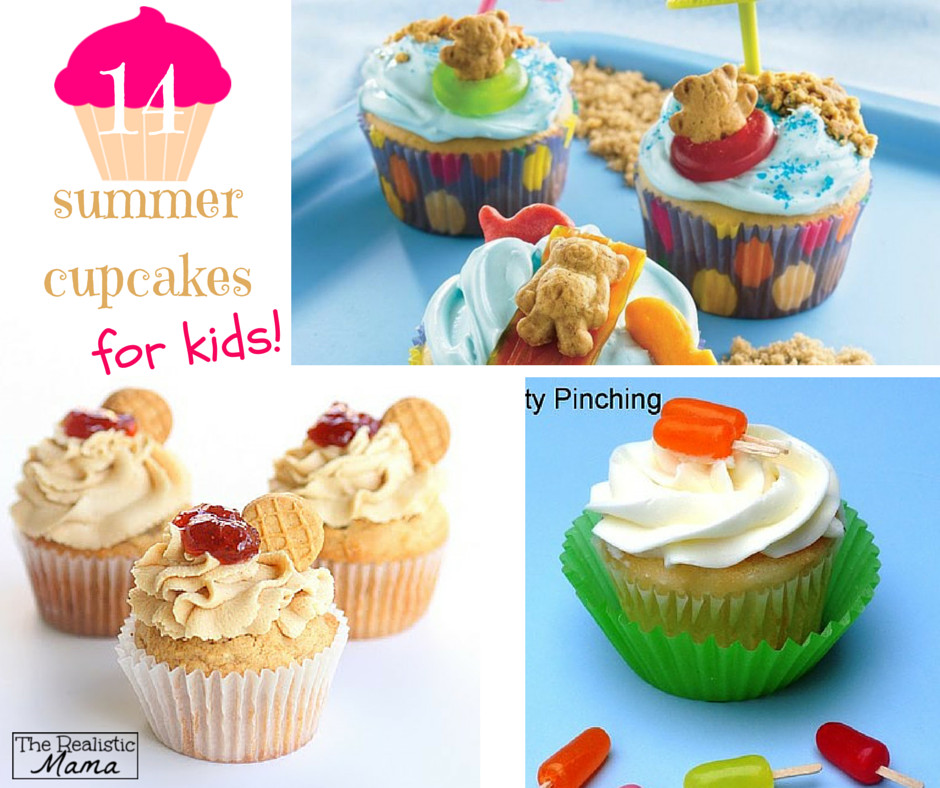 Summer Cupcakes Ideas  14 Summer Cupcakes for Kids The Realistic Mama