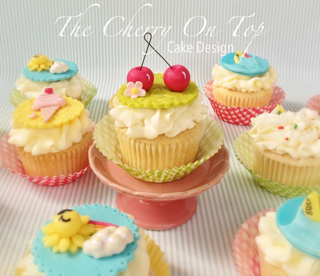 Summer Cupcakes Ideas  Fun Summer Cake Decorating Ideas
