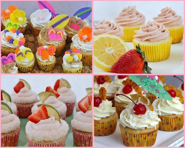 Summer Cupcakes Ideas  Beki Cook s Cake Blog Cool Summer Cupcake Ideas