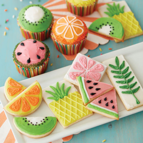 Summer Cupcakes Ideas  The Fruits of Summer Cupcakes and Cookies