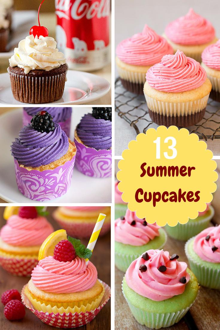Summer Cupcakes Ideas  13 Summer Cupcakes for Grown ups