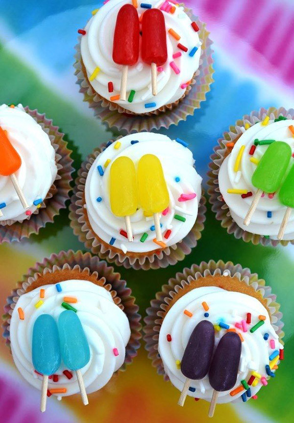 Summer Cupcakes Ideas  Seriously Lovely Popsicle Party Ideas B Lovely Events