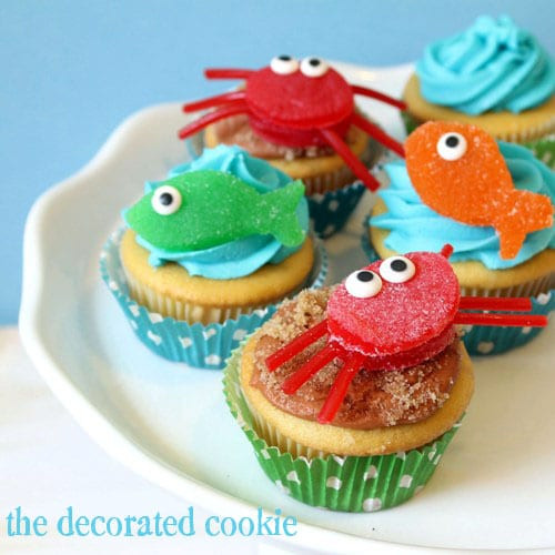 Summer Cupcakes Ideas  Summer Cupcake Decorating Ideas Finishing Touch Interiors