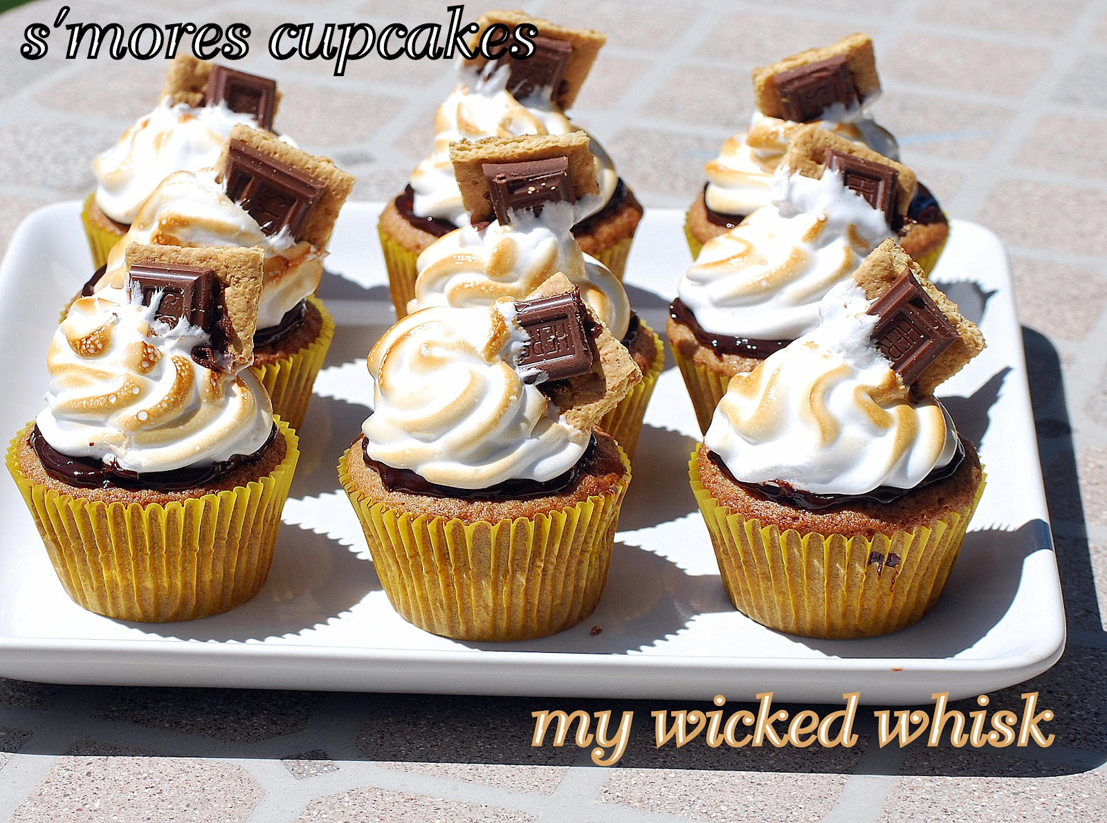 Summer Cupcakes Ideas  My Wicked Whisk Summer Cupcake Ideas