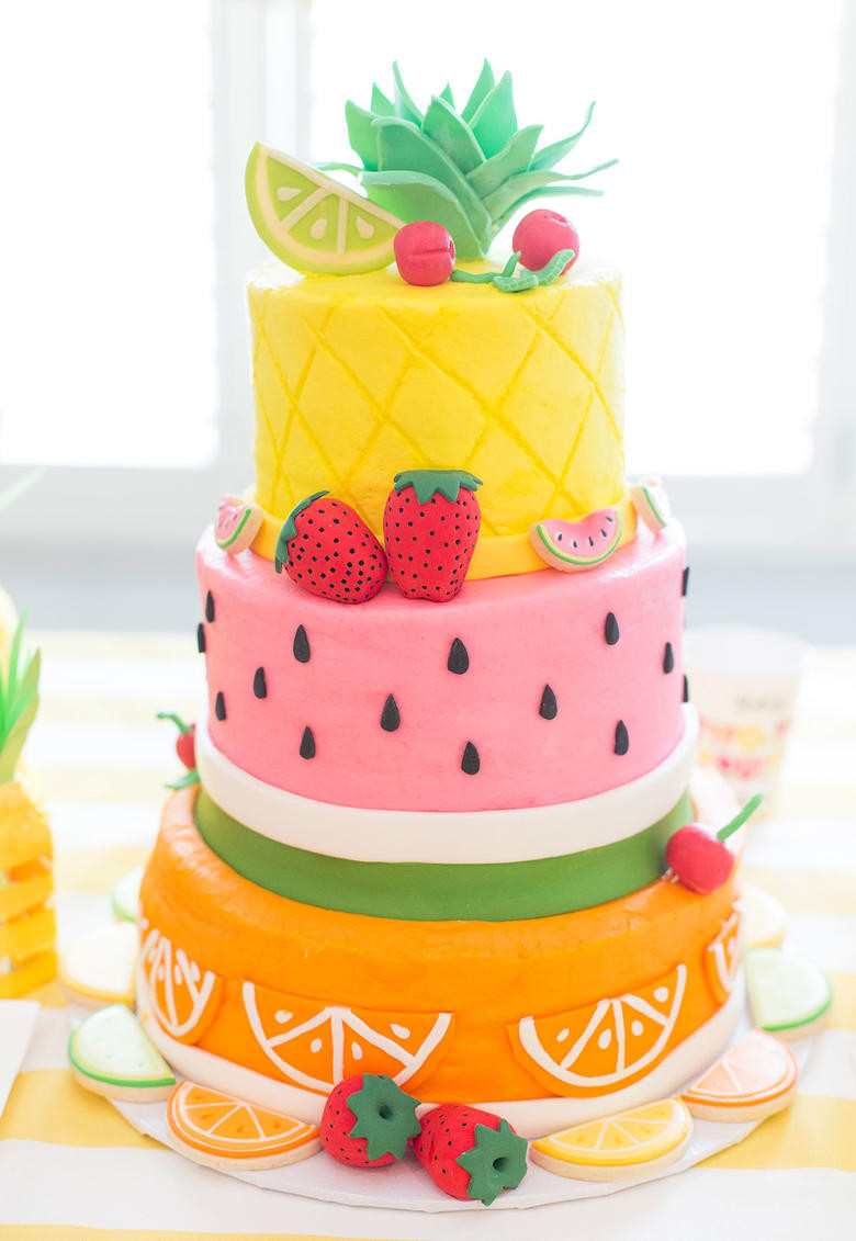 Summer Cupcakes Ideas  Roundup of the BEST Summer Cakes Tutorials and Ideas